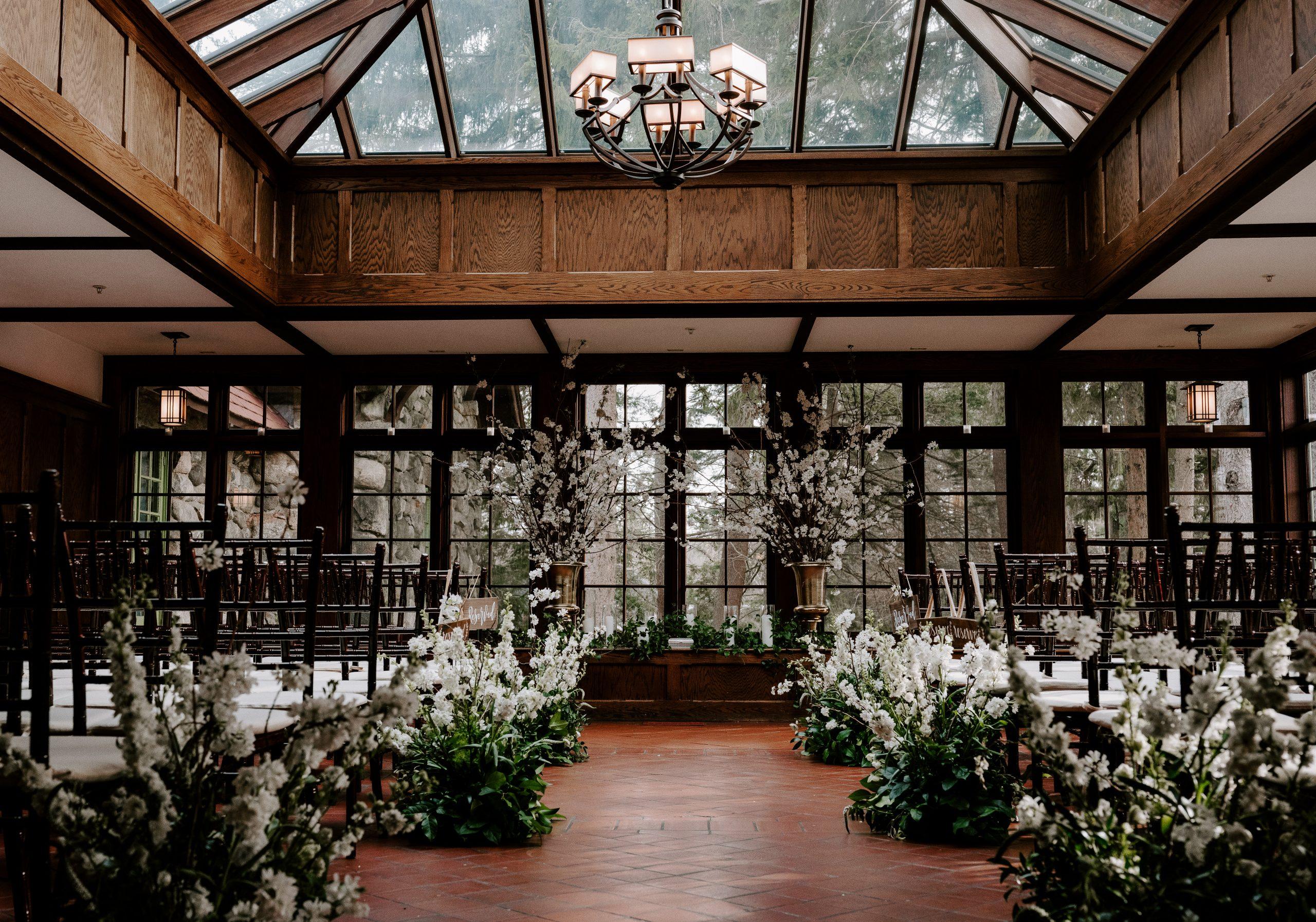 willowdale estate indoor wedding venue
